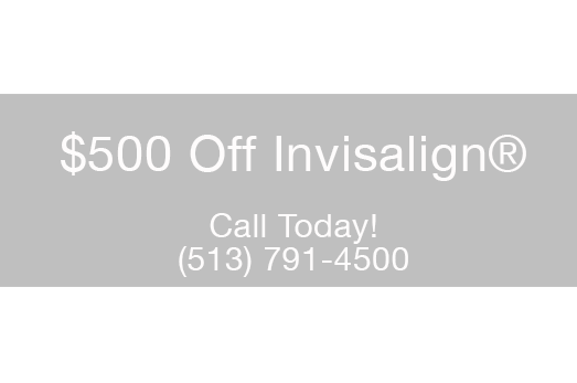 $500 off Invisalign® Offer- Hayden Family Dental Cincinnati, OH 513.791.4500